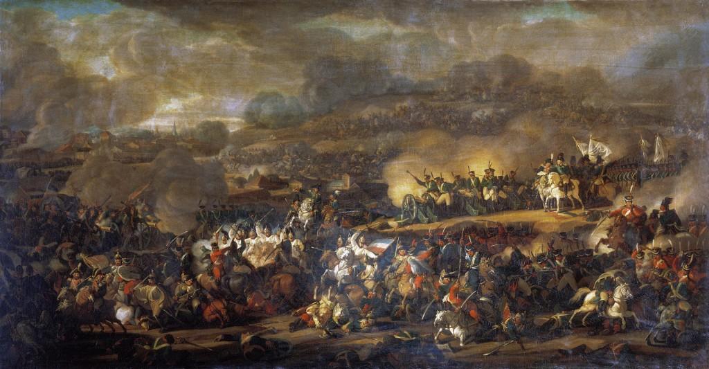 """Vladimir Ivanovich Moshkov: """"Battle of Leipzig"""""""