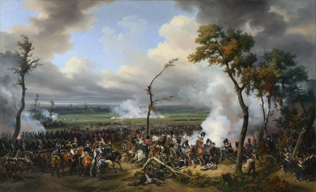 "Vernet, Emile-Jean-Horace: ""The Battle of Hanau"""