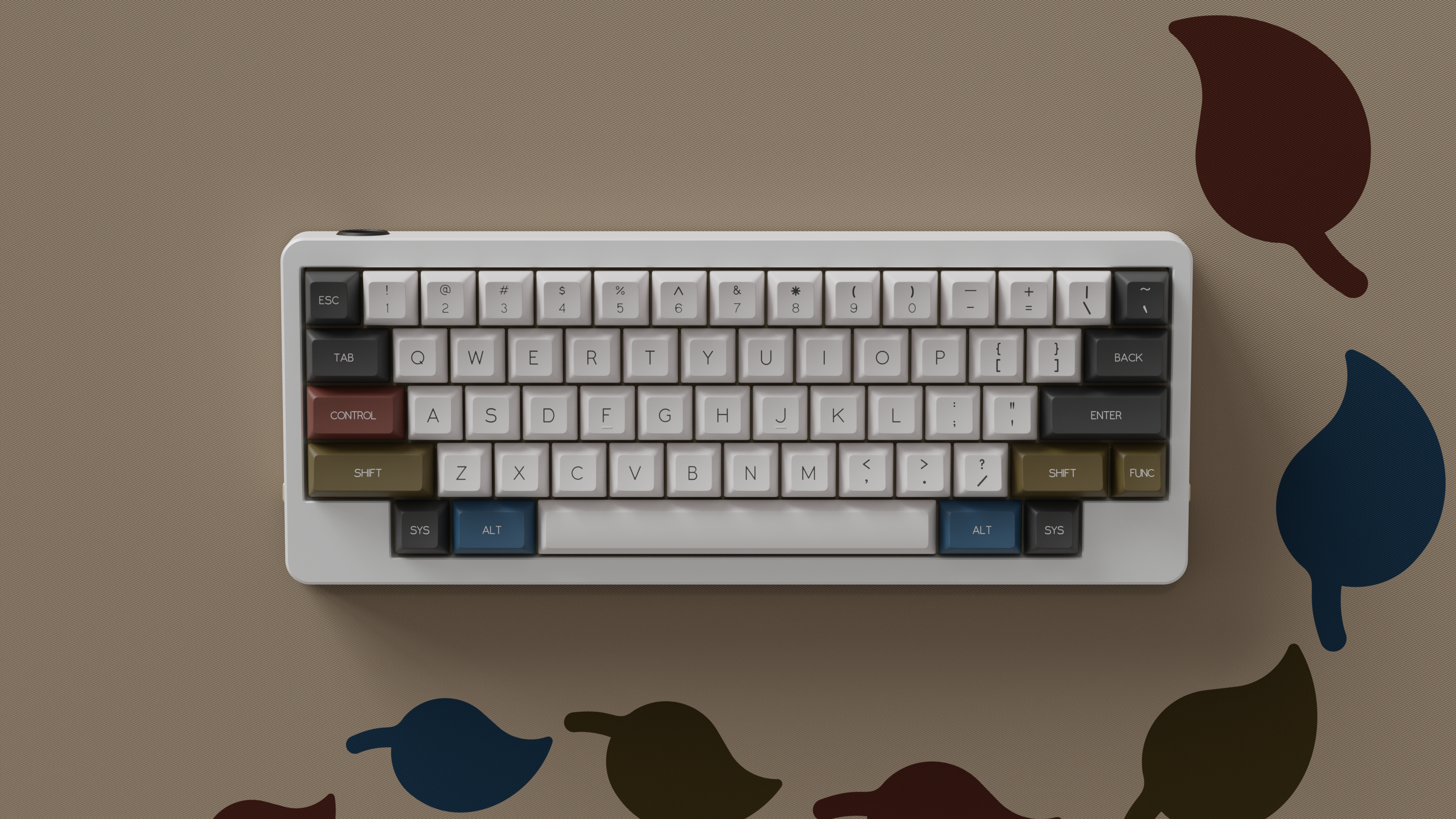 D60 Lite by KbdFans. Render by Bregoli.