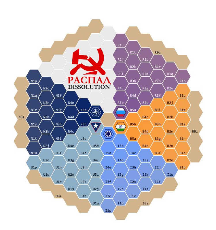 Dissolution Favor Map (Blank)